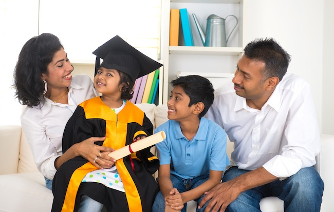 Why parents should be more involved with their child's education