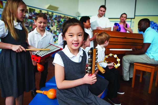 Girl in Private School