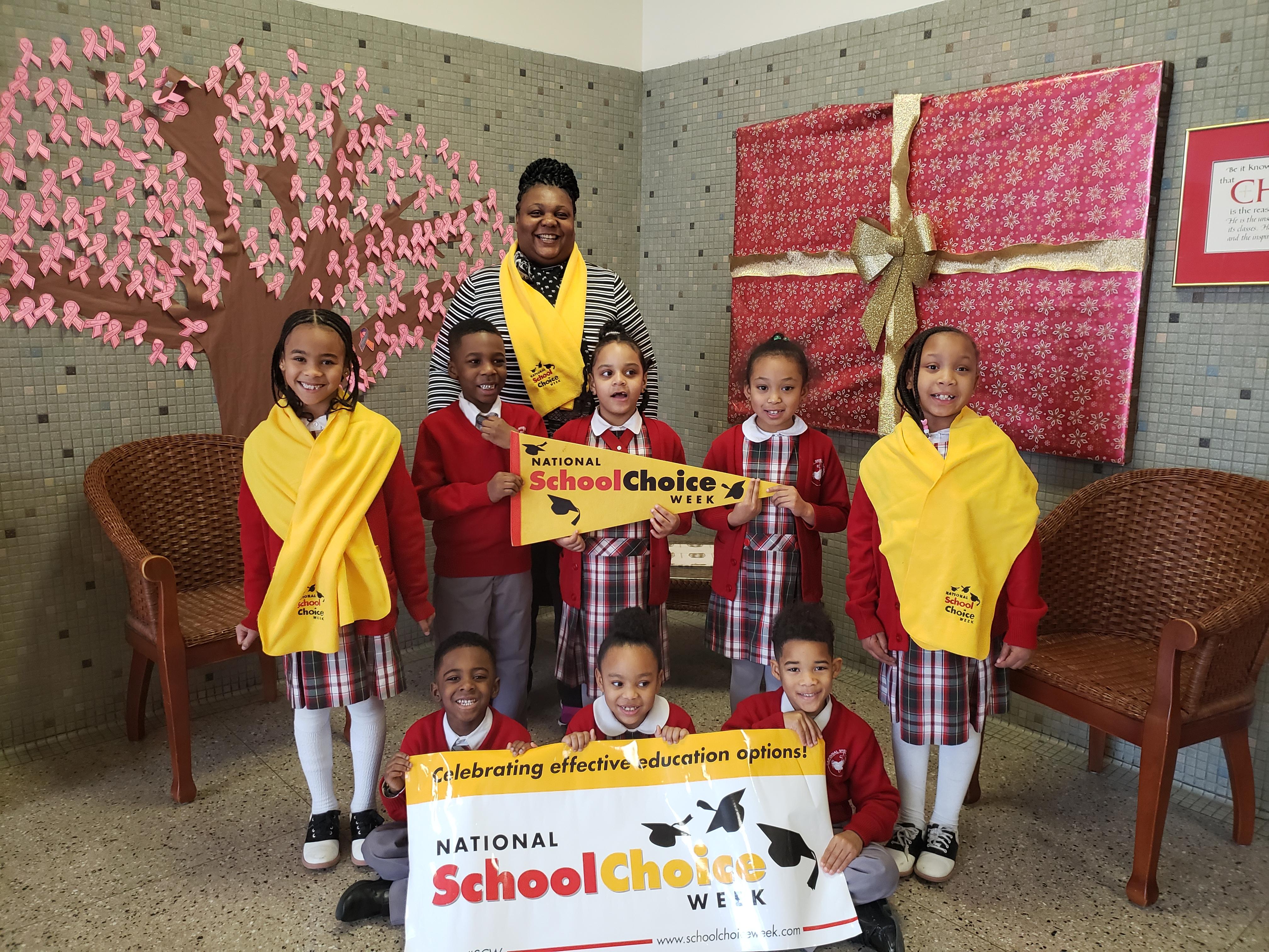 CSFB celebrates school choice at a schoo